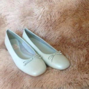 New Naturalizer Light Pastel Green Loafers